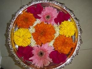 Floating Flower Arrangement