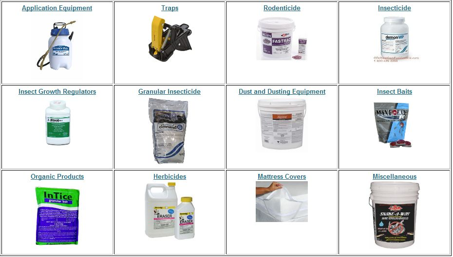 Pest Control Solutions and chemicals