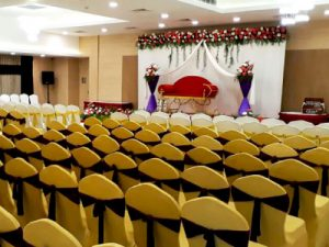 Image That Depicts A Beautiful Arrangement For Guest Placement of A Wedding Event.