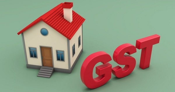An image showing a home and GST alphabet denoting the impact of GST on home renovation.